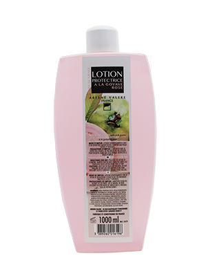 Protective lotion with pink guava
