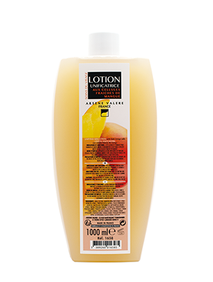 Unifying skin lotion with fresh mango cells